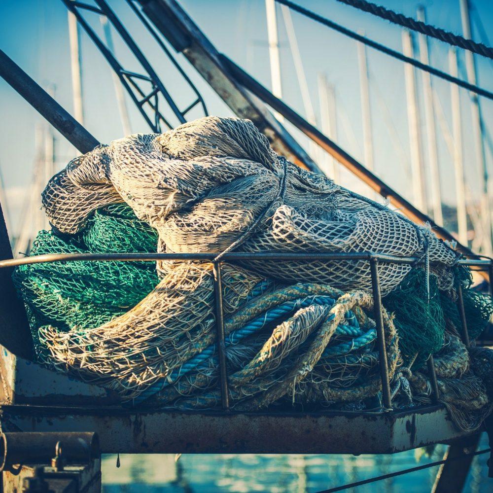 Fisherman Fishing Nets